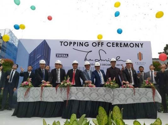 HANDOVER TARGET IN 2020, TRINITI DINAMIK HELD THE TOPPING OFF FOR THE SMITH