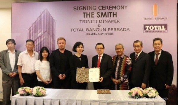 THE SMITH'S APARTMENT RATE DEVELOPED BY TRINITI DINAMIK INCREASED SHARPLY