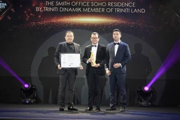 TRINITI DINAMIK ATTAINED THREE AWARDS AT INDONESIA PROPERTY AWARDS 2019